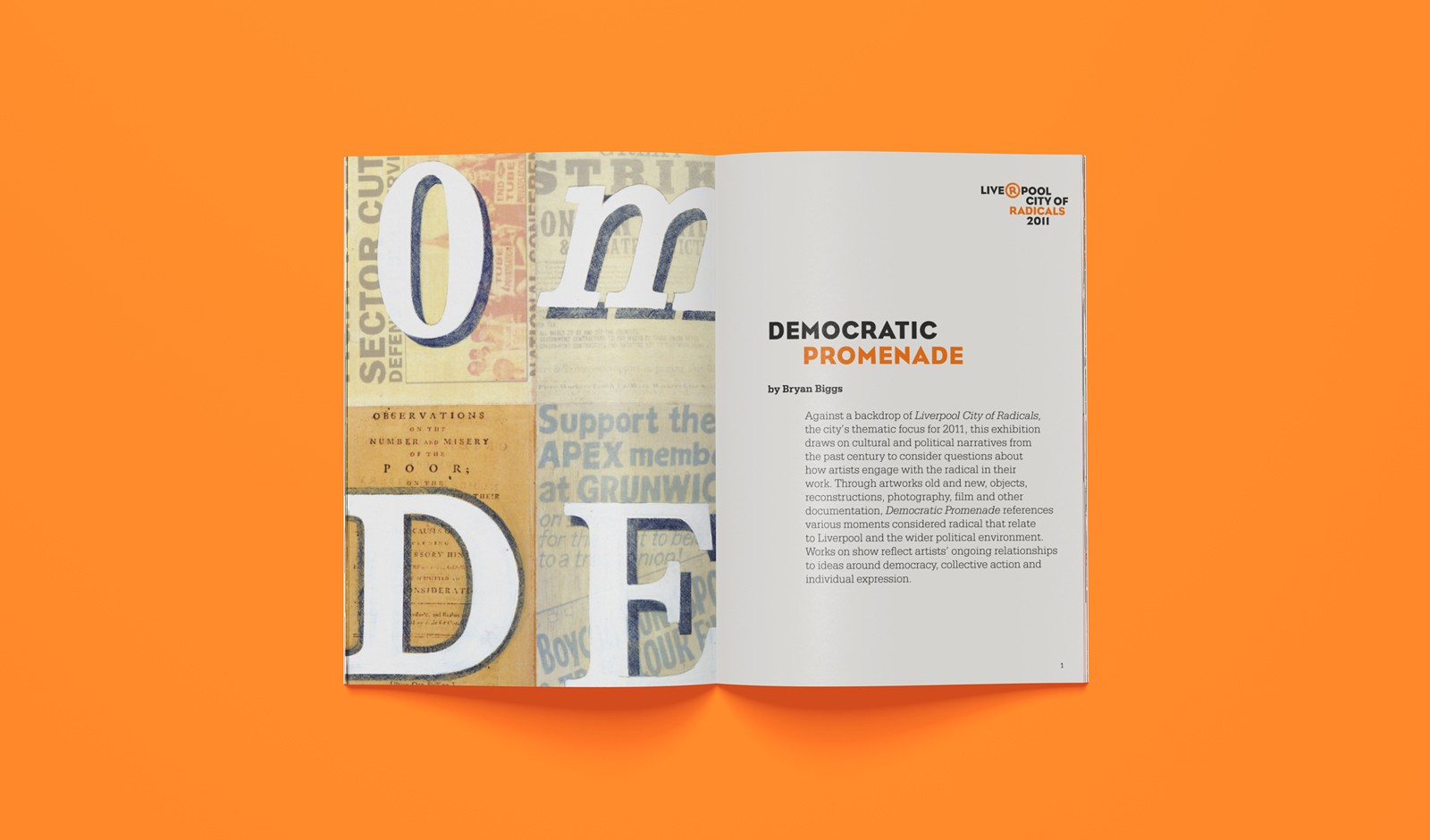 Exhibition guide: Democratic Promenade
