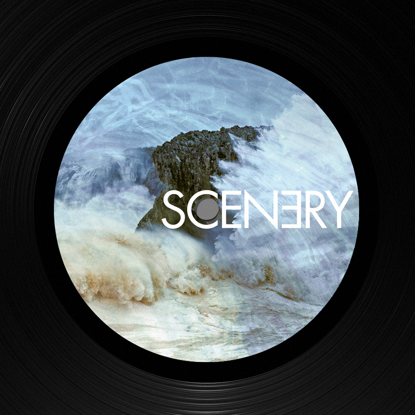 Record label design: Scenery