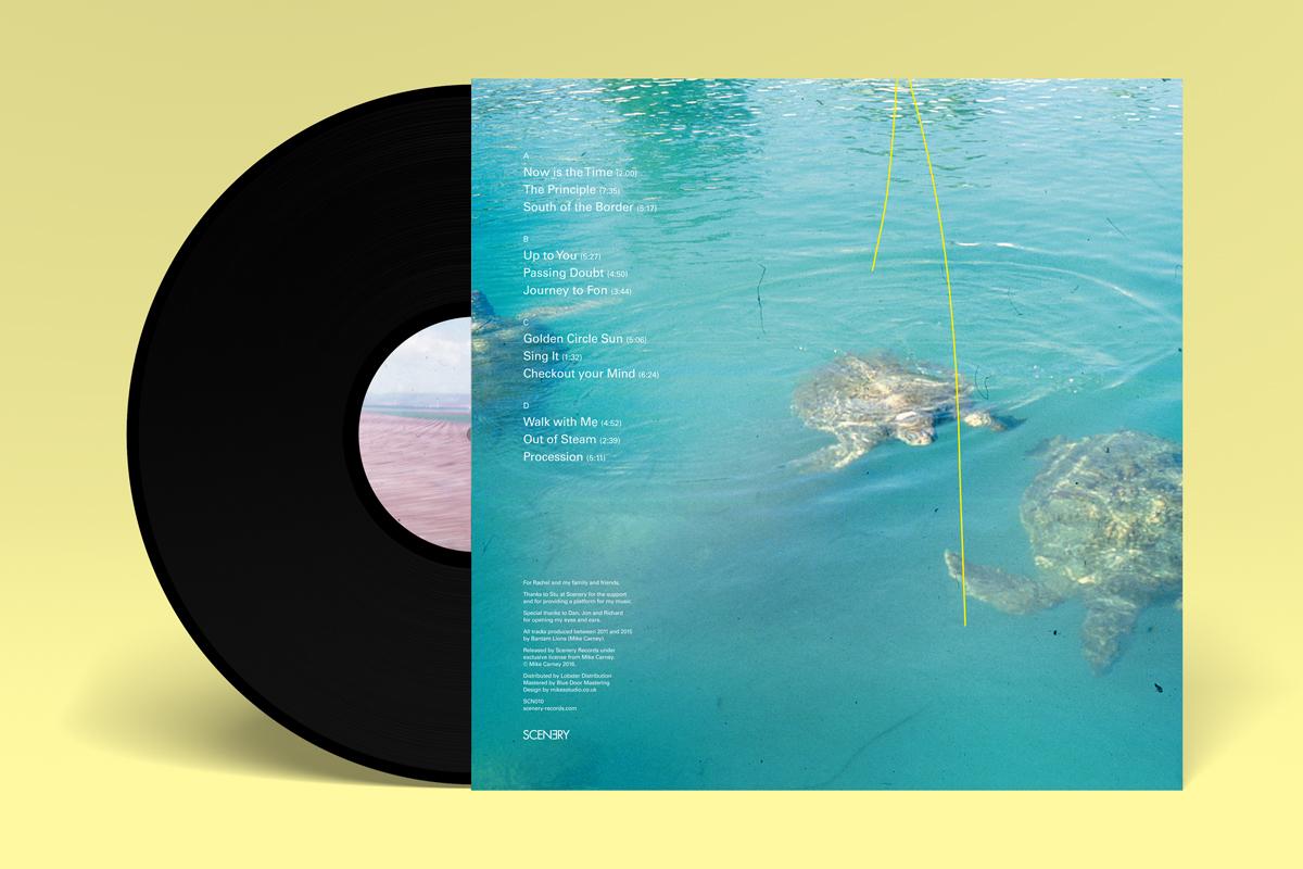 Bantam Lions record sleeve design