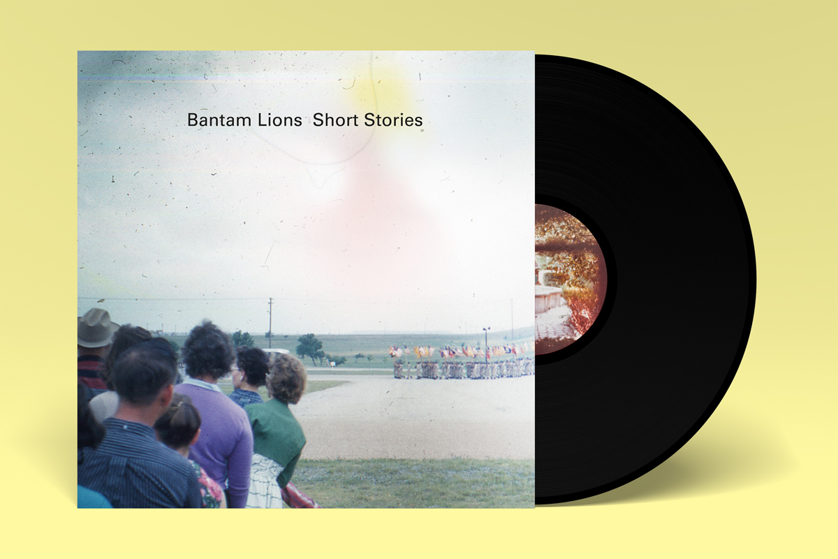 Bantam Lions record sleeve design