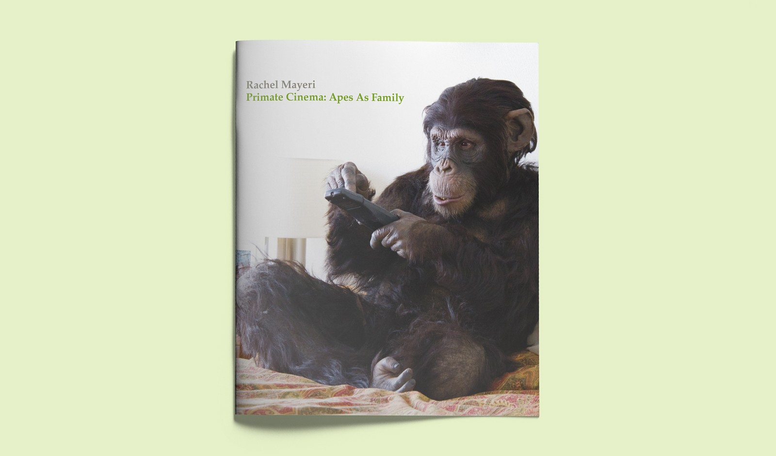 Art publication: Primate Cinema