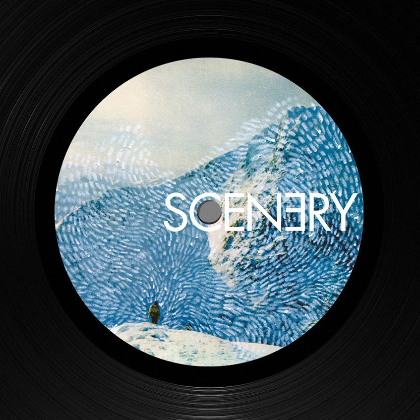 Record label design: Scenery